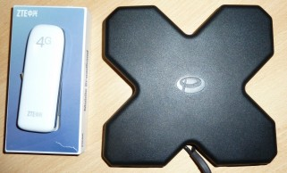 ZTE Stick + univerzální LTE MiMo anténa